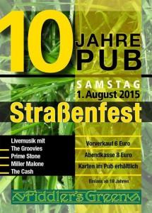10 Jahre PUB Straßenfest